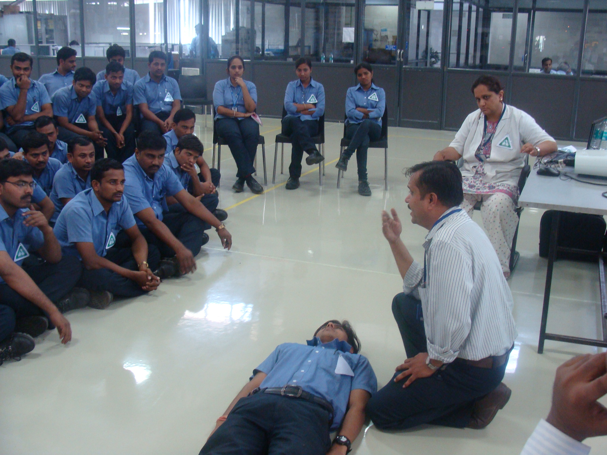 Industrial Safety & First Aid Traning