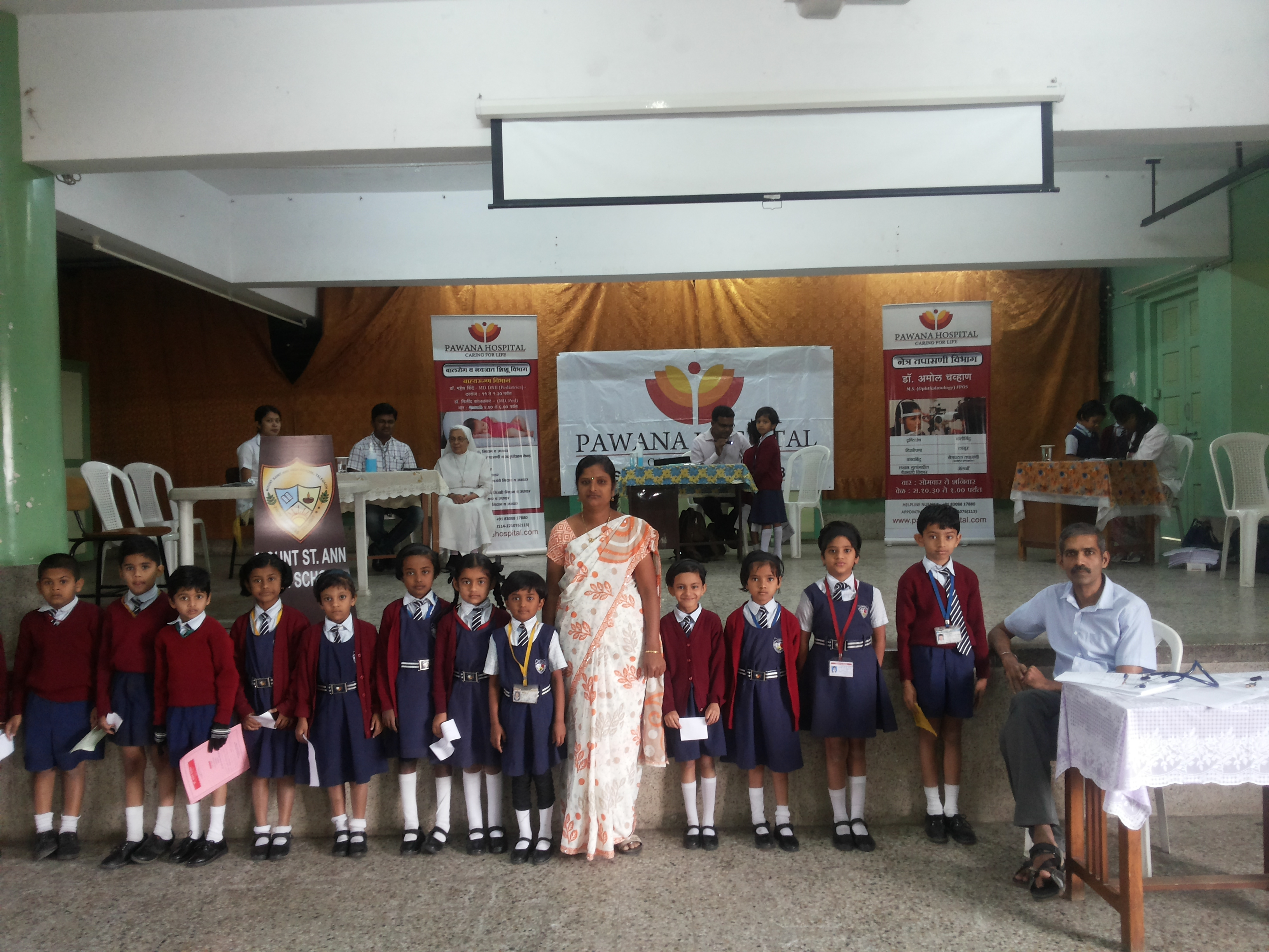 School Health Check up Camp
